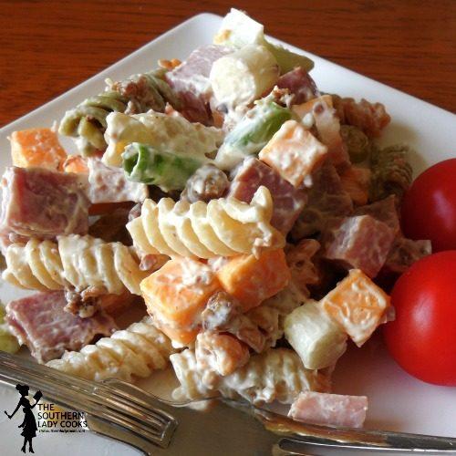 Ham Pasta Salad