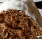 SOUR CREAM SPICE CAKE WITH SOUR CREAM FROSTING