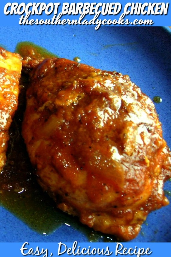 Slow Cooker Barbecued Chicken Breasts