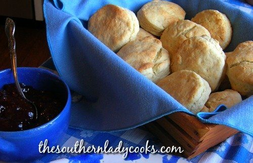 Cream Biscuits - The Southern Lady Cooks