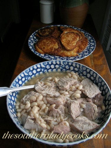 Pork Roast and white beans