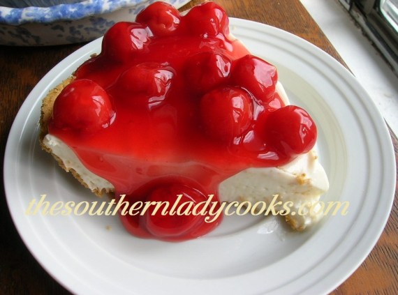 cherry cream cheese pie or cheesecake