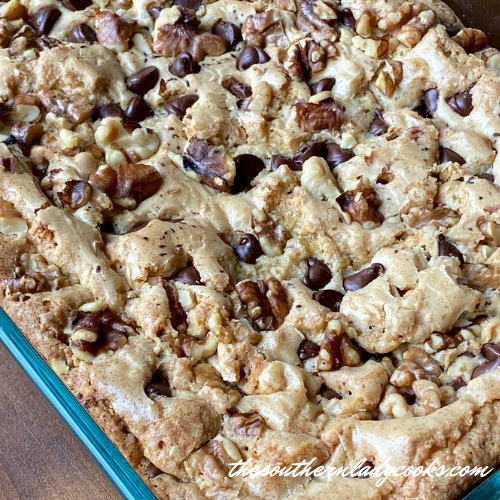 Peanut Butter Brownies - The Southern Lady Cooks