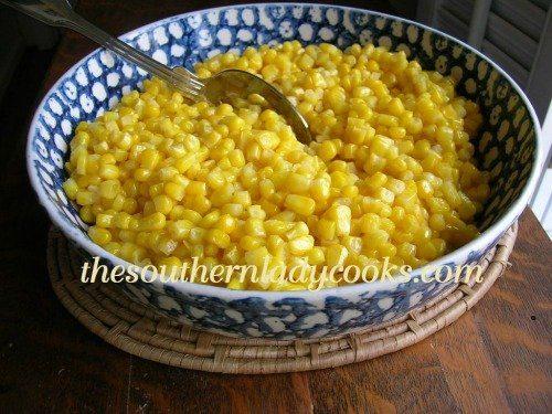 Fried corn