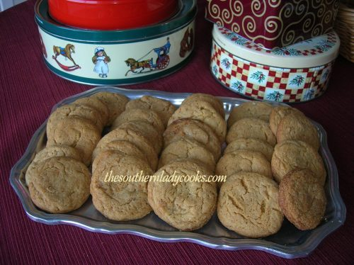 Molasses Cookies - Copy