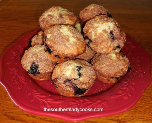 Orange Blueberry Muffins4