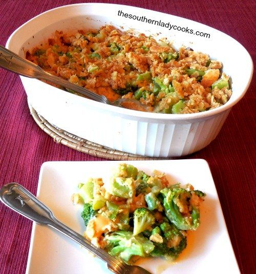 The Southern Lacy Cooks Broccoli Casserole Cheesy