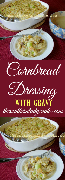 the-southern-lady-cooks-cornbread-dressing-with-gravy