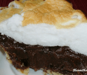SWEET CHOCOLATE PIE