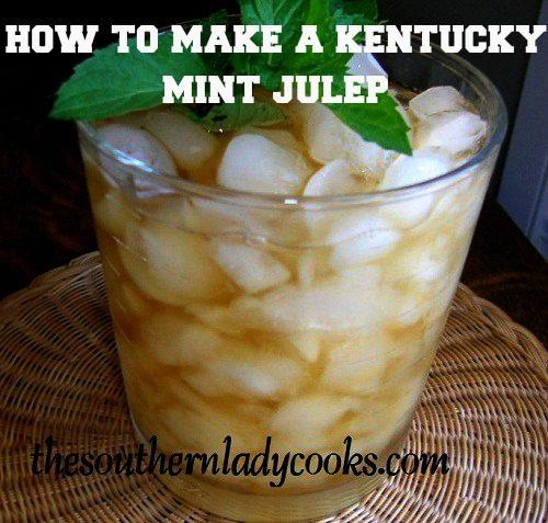 How to Make a Kentucky Mint Julep