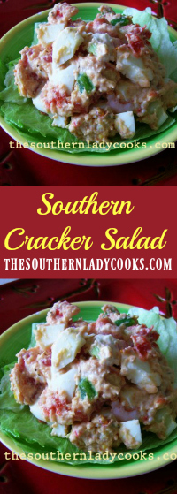 The Southern Lady Cooks Southern Cracker Salad