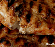 GRILLED CHICKEN AND CHICKEN GRILLIN SAUCE