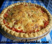 TOMATO PIE, A DELICIOUS SUMMER TREAT