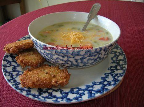 Potato, Ham and Broccoli Soup