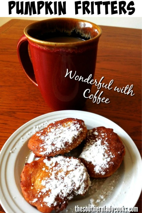 Pumpkin Fritters -The Southern Lady Cooks
