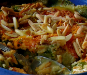 RITZY BRUSSELS SPROUT CASSEROLE