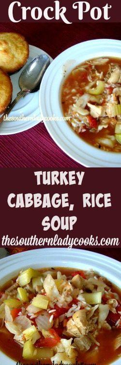 crock-pot-turkey-cabbage-rice-soup