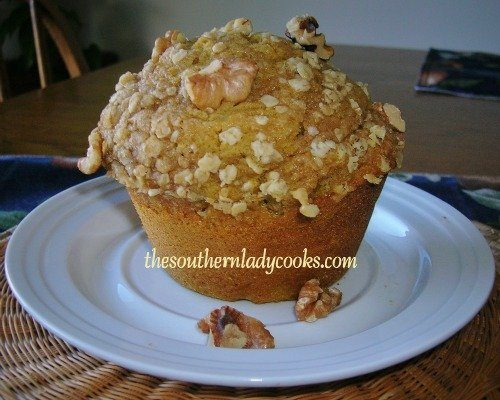 Pumpkin Recipes The Southern Lady Cooks Best Pumpkin Muffin