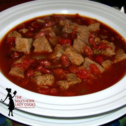 Stew Meat Chili