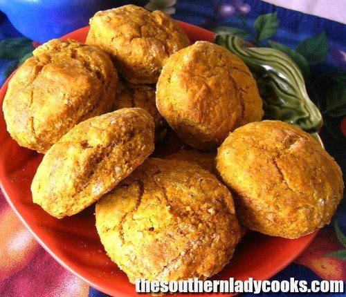 Easy Whole Wheat Pumpkin Biscuits The Southern Lady Cooks
