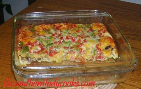 Easy Cheesy Breakfast Casserole