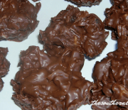 CHOCOLATE BUTTERSCOTCH CLUSTERS