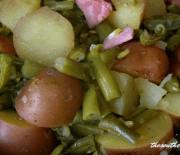 GREEN BEANS AND POTATOES