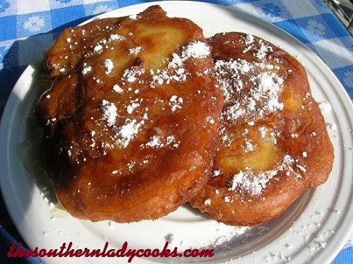 Amazing Fried Apple Fritters - TSLC