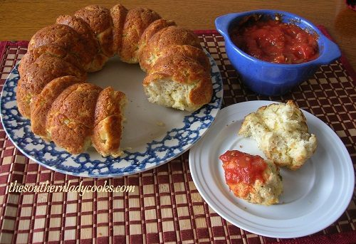 Cheesy Pull-A-Part Italian Bread - TSLC