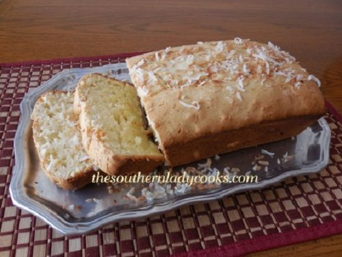 Pound Cake Loaf Recipe Sour Cream: COCONUT CREAM CHEESE POUND CAKE