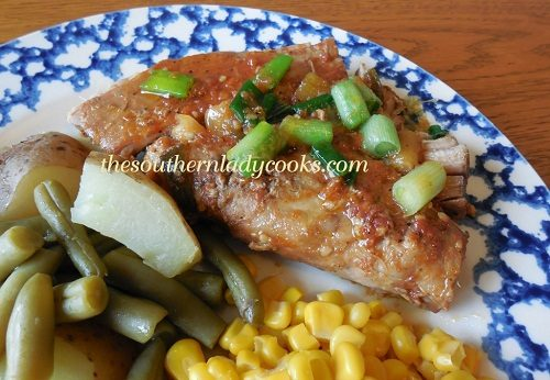 Crock Pot Spicy Pork Tenderloin