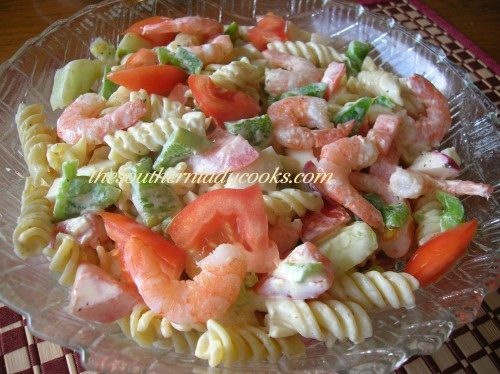 Shrimp Pasta Salad -TSLC