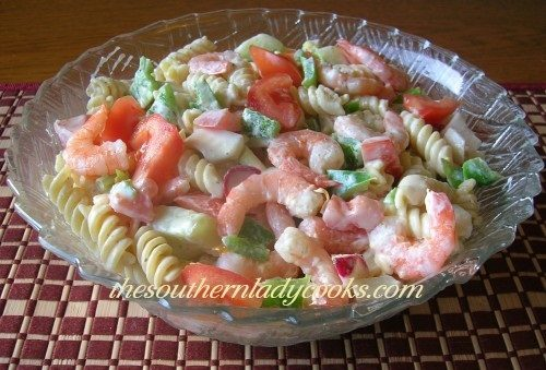 Shrimp Pasta Salad - TSLC