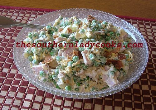 Southern Pea Salad Recipe
