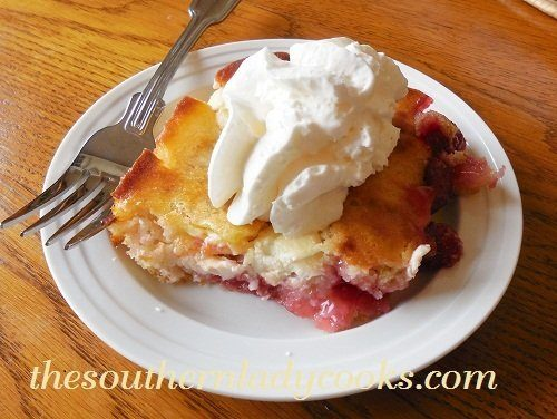 Cherry Cream Cheese Cobbler - TSLC