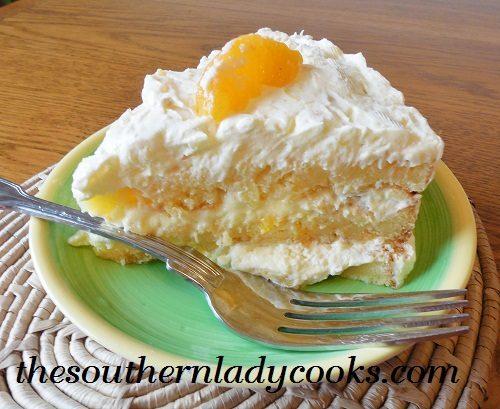 Mandarin orange dream cake recipe