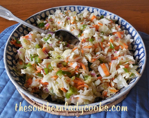 Ice Box Coleslaw