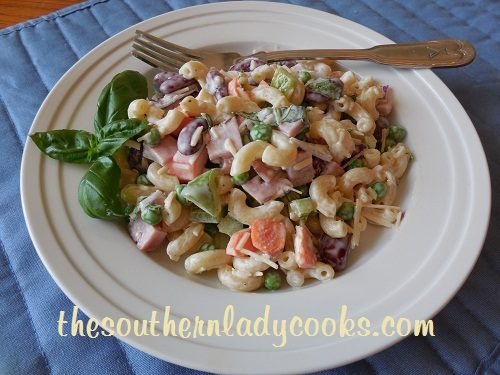 Ham and Bean Pasta Salad - TSLC
