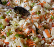 OLD-FASHIONED ICE BOX COLESLAW