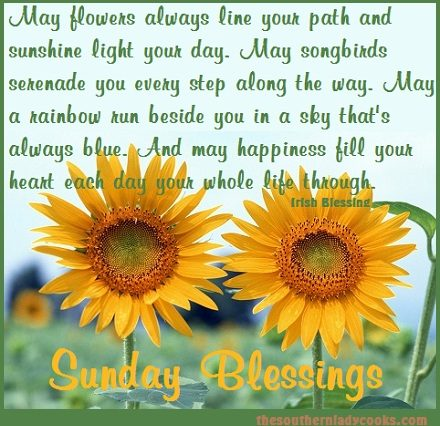 Sunday morning blessings the southern lady cooks you can read other sunday morning blessings here m4hsunfo