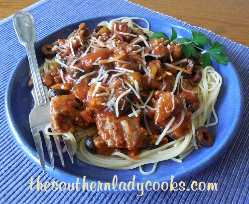 Italian Sausage and Manwich Skillet Meal - TSLC