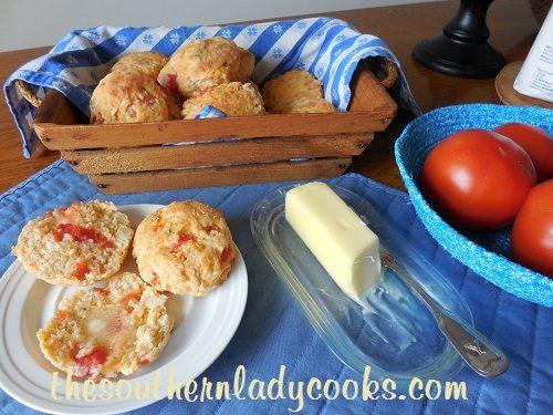 Tomato Biscuits - TSLC