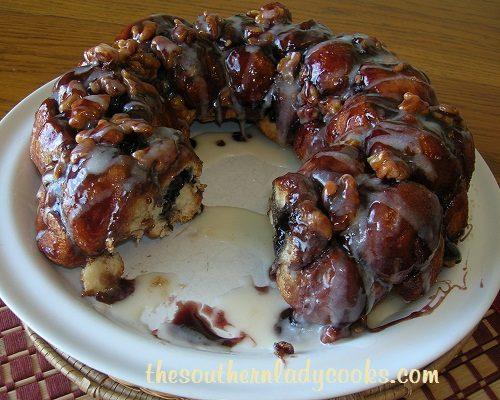 blueberry monkey bread recipe