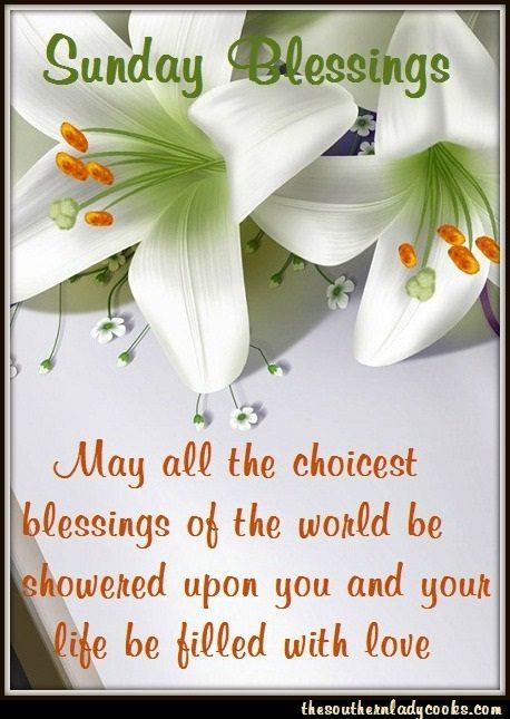 Sunday Blessings 43