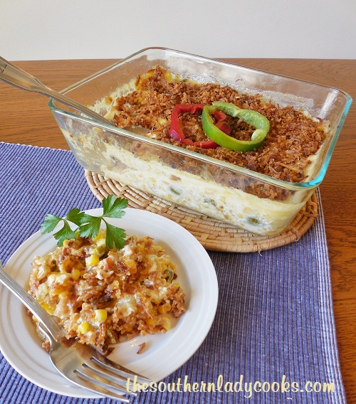 Christmas Side Dishes Corn Casserole The Southern Lady Cooks