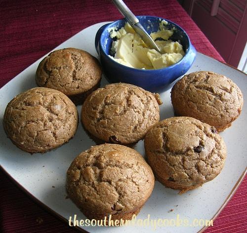 Sour Cream Banana Muffins - Copy