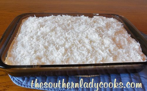 Twelve favorite easter desserts the southern lady cooks easy sour cream coconut cake tslc forumfinder Image collections