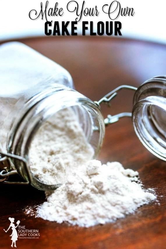 Make Your Own Cake Flour