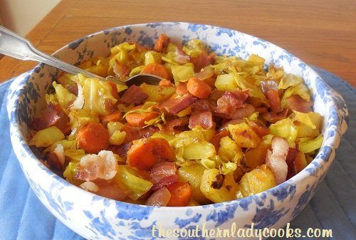 Bacon Cabbage Skillet - TSLC