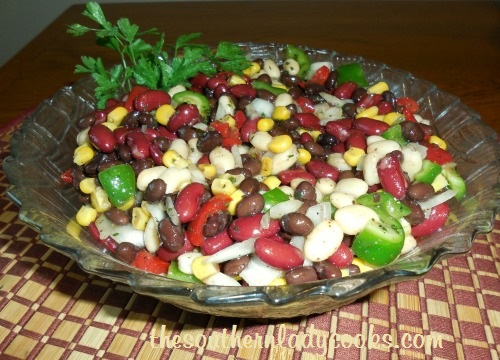 Mexican Bean Salad TSLC